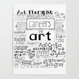 Art Careers Poster