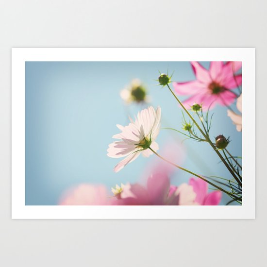 A perfect summer day Art Print