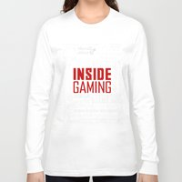 inside gaming Long Sleeve T-shirts featuring Inside Gaming Moments by Jin Smoth
