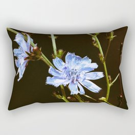Roadside Flowers Rectangular Pillow