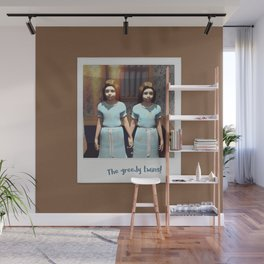 The greedy twins! Wall Mural