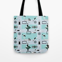 Art Deco Swimmers Tote Bag