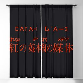 Anime Retro Aesthetic Hype Beast Title Blackout Curtain