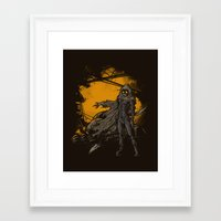 spice Framed Art Prints featuring SPICE HARVESTER by Letter_q