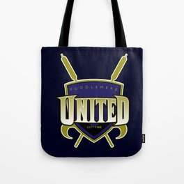 Quidditch Teams of the World: Puddlemere United Tote Bag