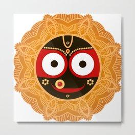 Lord Jagannatha. Metal Print