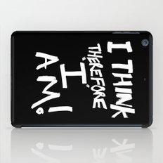 I think therefore I am iPad Case