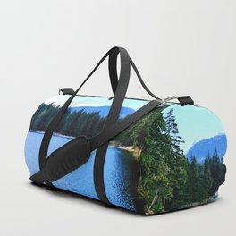 Bluest of blues Duffle Bag