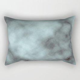 Aquamarine marble Rectangular Pillow