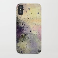 Abstract Mixed Media Design Slim Case iPhone X
