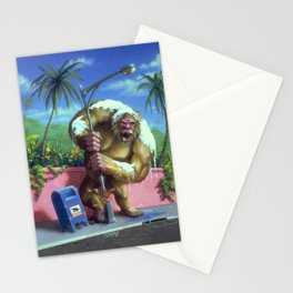 The Abominable Snowman of Pasadena Stationery Cards