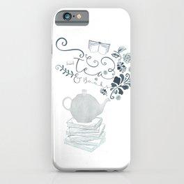 Tea and Books iPhone Case