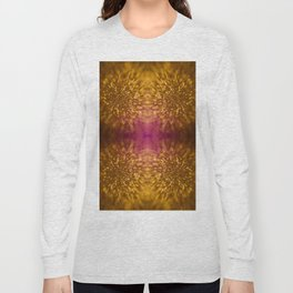 Gold Starburst Shimmer Long Sleeve T-shirt