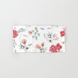 Autumn Floral Pattern Hand & Bath Towel