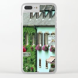 Pastel Town : Alsace Clear iPhone Case