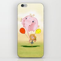 balloon iPhone & iPod Skins featuring balloon by José Luis Guerrero