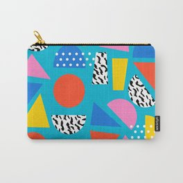 Airhead - memphis retro throwback minimal geometric colorful pattern 80s style 1980's Carry-All Pouch