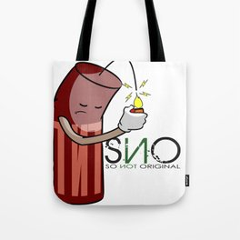 S.N.O Blowing up Tote Bag