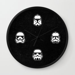Troopers Wall Clock