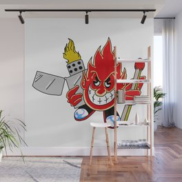 Firebug Phil Wall Mural