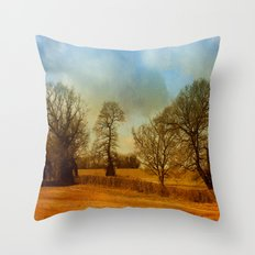 The Country Scene Throw Pillow
