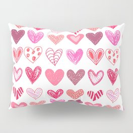 Many Hearts Pillow Sham