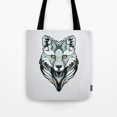 Little Polar Fox Tote Bag