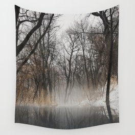 Frozen park Wall Tapestry