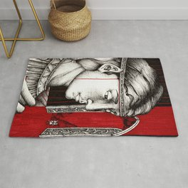 Parting in Nargothrond Rug