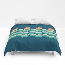 BG Riley - Jardin in Blue - Comforters