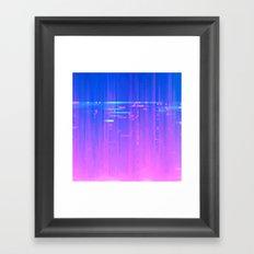 FH ON Framed Art Print