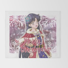 Merry Xmas Rei! Throw Blanket