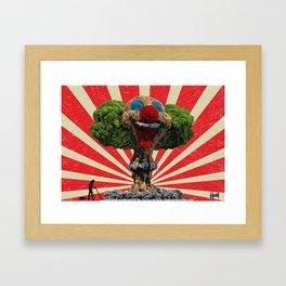 Clean Up Framed Art Print