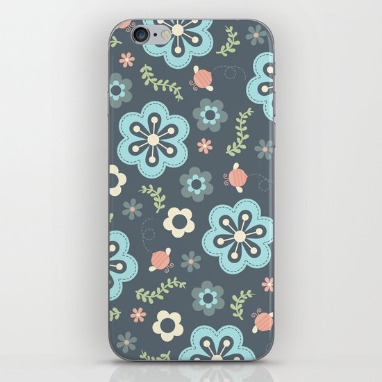 Whimsy Floral iPhone & iPod Skin
