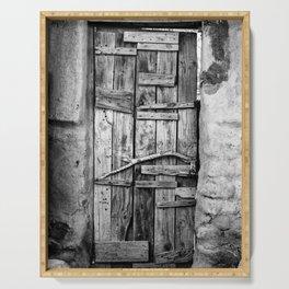 Ancient Doorway Serving Tray