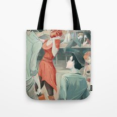 The Twirl Tote Bag