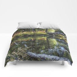 Fall at Clear Lake, No. 2 Comforters