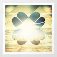 Luck Art Print