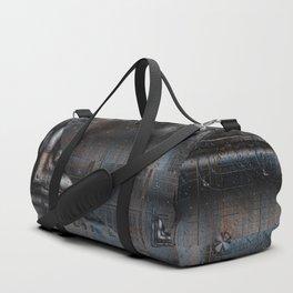 Old Rusty Machinery Duffle Bag