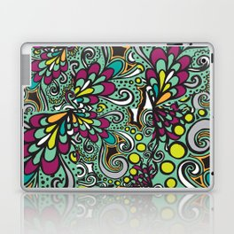 Cropped Swirls Laptop & iPad Skin