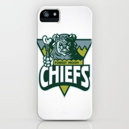 Forest Moon Chiefs iPhone Case