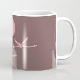 Earthy Flamingo Love Couple Coffee Mug