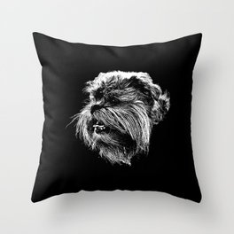 St: Simeon 44 Griffon Bruxellois Throw Pillow