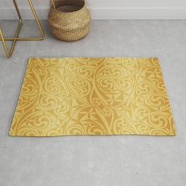 Celtic Warlord gold Rug