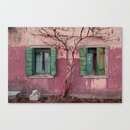 Venice House Canvas Print