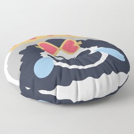 Brook Emoji Design Floor Pillow