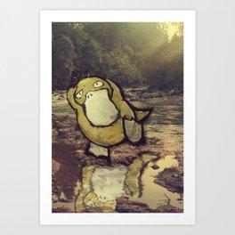 (#54) Psyduck Art Print