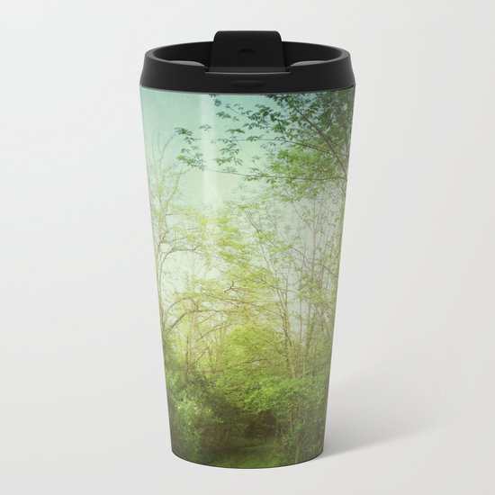 Follow Your Life Path Metal Travel Mug