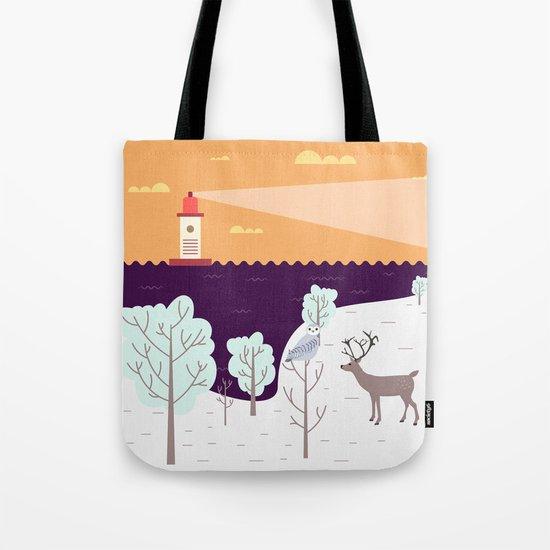 Wild Light Tote Bag