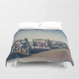 Cadillac Ranch - Route 66 Duvet Cover